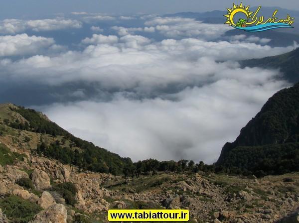 قله درفک روبار گیلان