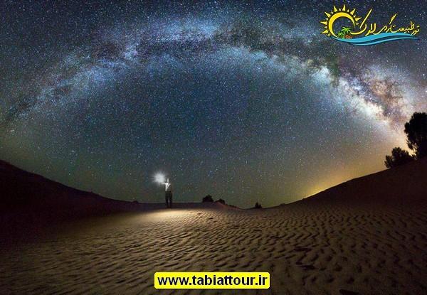 کویر مصر در شب