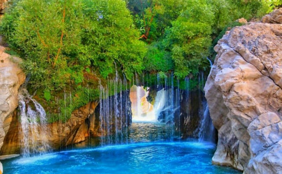 آبشار-سمیرم-استان-اصفهان
