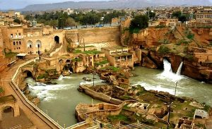 آبشارهای-تاریخی-شوشتر-در-خوزستان